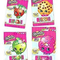 Bundle of 4 Shopkins Lip Balms Chapstick