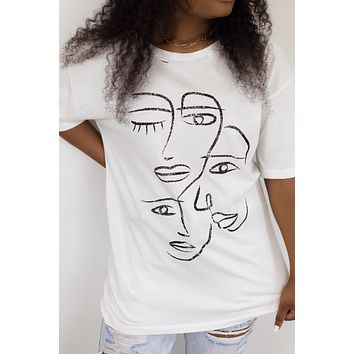 Let's Face It Graphic Tee
