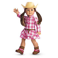 American Girl® Dolls: Western Plaid Outfit & Hat