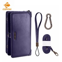 CORNMI Wallet Purse Phone Case For iPhone X Cover Flip Leather Pouch Bag Holster With Card Pocket Shell multifunctional Housing