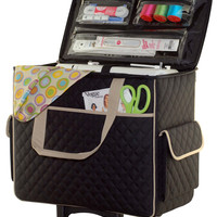 Basic Rolling Sewing Machine Tote at Joann.com