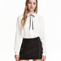 H&M Blouse with Pin-tucks $34.99