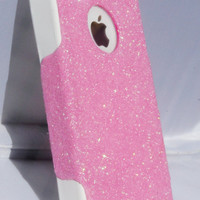iPhone 4/4S Otterbox Glitter Cute Sparkly Case Commuter Series for Apple iPhone 4/4S Blush Pink/White