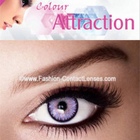 Amethyst Color Attraction Contact Lenses change your eyes Violet