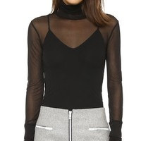 Ellen Double Layer Turtleneck