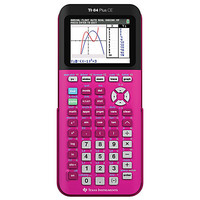 Texas Instruments® TI-84 Plus CE Color Graphing Calculator, Pink, 84 PLUS CE PINK Item # 145889