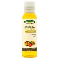 Nature's Truth Cold Pressed Jojoba Unscented Base Skin Care Oil - 4 oz