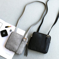 Bags Korean Simple Design One Shoulder Messenger Bags [4915814276]