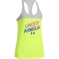 Under Armour Women's Tri-Blend Graphic Tank Top
