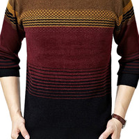 Loose Plus Size Knitted Pullover Sweater