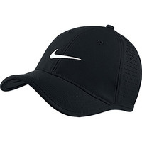Nike Ultralight Tour Perforated Cap One Size, 010 Black
