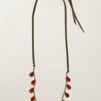 Fluttered Vines Strand by Anthropologie Red One Size Jewelry