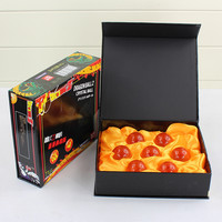 DragonBall 7 Stars Crystal Ball Set of 7 pcs Dragon Ball Z Balls Complete Set New in Box 4.5CM Free Shipping