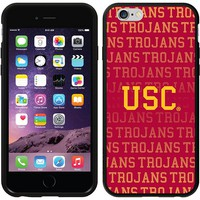 Coveroo, Inc. USC Trojans Repeating iPhone 6 Switchback Snap-On Case 786-3715-BK-FBC (Usc Team)