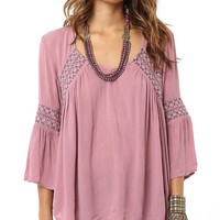 O´Neill Rocco Embroidered Woven Top   Dillards