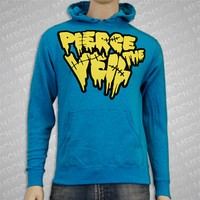 Stitches Turquoise Hooded : EVR0 : MerchNOW - Your Favorite Band Merch, Music and More