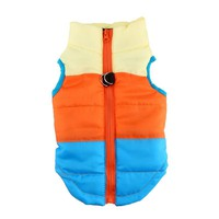 Pets Dog Clothes Vest Harness Puppy Cats Coat Jacket Apparel 4 Colors Large Clothes For Dogs