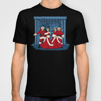May Your Days be Merry and Bright T-shirt by Karen Hallion Illustrations