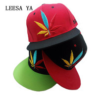 Casual Maple Snapback Baseball Caps Men Women , Color Leaf Hip Hop Snapback ,Fas