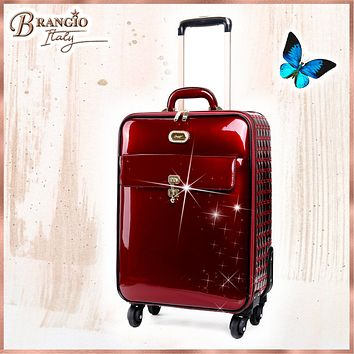 Euro Moda Underseat Travel Luggage with Spinners