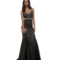 Luna- Black Prom Dress