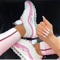 Nike Air Max 97 fashion casual sports shoes men's and women's sports shoes