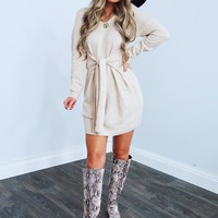 Something About This Dress: Beige
