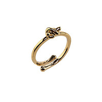 kate spade new york Sailor's Knot Adjustable Ring - Silver