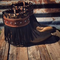 The Wonderer Gypsy Boots from Ritzy Gypsy Boutique