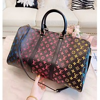 LV Louis Vuitton New fashion multicolor monogram print leather leather travel high quality shoulder bag handbag