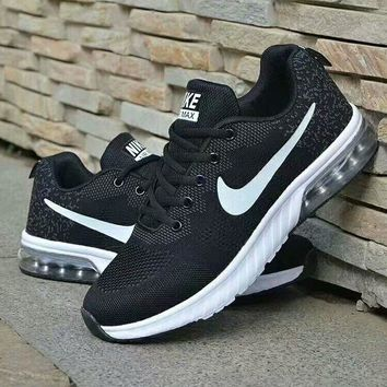 """""""Nike"""" Unisex Sport Casual Fashion Thick Bottom Half Air Cushion Sneakers Couple Running Shoes"""