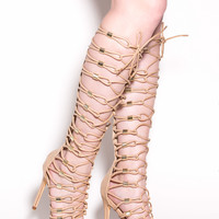 Loop Theory Gladiator Heels