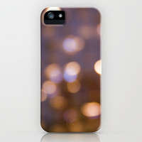 Bokeh Rain iPhone & iPod Case by Shawn Terry King Ipod Touch, Iphones, and Samsung Galaxy Available! Click through to customize!!!