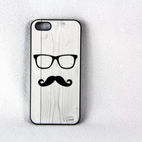 Hipster man iPhone 5 Case