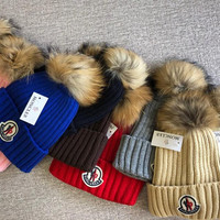 Moncler Hat with Removable Pom