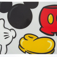 Disney Parks Mickey Mouse Body Parts Kitchen Placemat New
