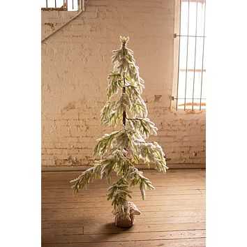 Artificial Frosted Christmas Tree - Large