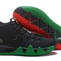 Nike Kyrie Irving 4 BLK Basketball Shoes US7-12