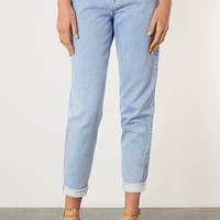 MOTO Blue Mom Jeans - Jeans - Clothing - Topshop