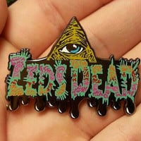 Zeds Dead Illuminati Heady Hat Pin