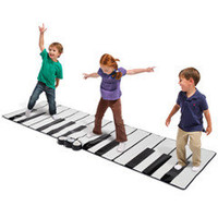 The World's Largest Toe Tap Piano - Hammacher Schlemmer