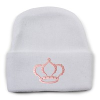 Newborn Princess Knit Cap