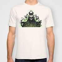 Maleficent 2014 T-shirt by Katie Simpson   Society6