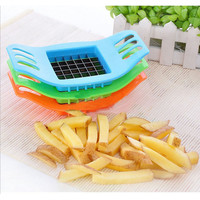 PVC + Stainless Steel French Fry Fries Cutter