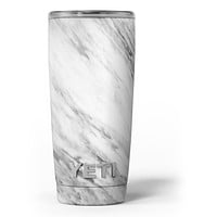 Slate Marble Surface V10 - Skin Decal Vinyl Wrap Kit compatible with the Yeti Rambler Cooler Tumbler Cups