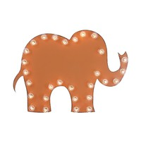 Elephant Marquee Sign