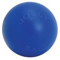 Jolly Pets - Push-n-play Ball With Plug Dog Toy