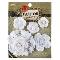 Ivory Crochet Flower Accessory Set | Shop Hobby Lobby