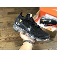OFF-WHITE x Nike Air VaporMax 10X BLACK Size:40-45
