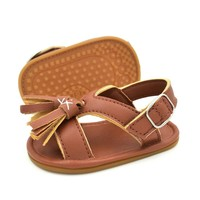 Summer Baby Kids Sandals Shoes Unisex Baby Crib Shoes Sneakers Tassels Soft Soled Fash